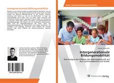 Capa do livro de Intergenerationale Bildungsmobilität
