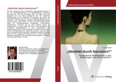 "Portada del libro de ""Identität durch Narration?"""