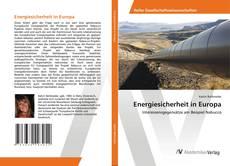 Обложка Energiesicherheit in Europa