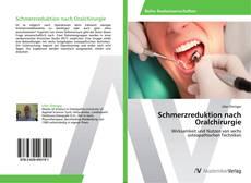 Capa do livro de Schmerzreduktion nach Oralchirurgie
