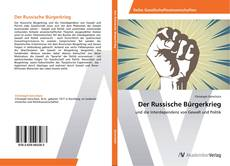 Bookcover of Der Russische Bürgerkrieg