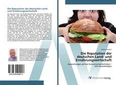 Buchcover von Die Reputation der deutschen Land- und Ernährungswirtschaft