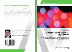 Content-blind Modular Application kitap kapağı