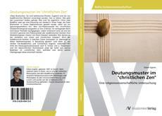 """Buchcover von Deutungsmuster im """"christlichen Zen"""""""