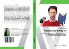 Buchcover von Duale Karriere im Sport