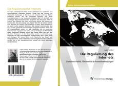 Bookcover of Die Regulierung des Internets