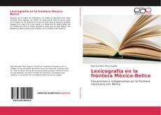 Bookcover of Lexicografía en la frontera México-Belice