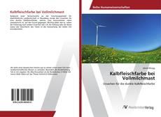 Buchcover von Kalbfleischfarbe bei Vollmilchmast