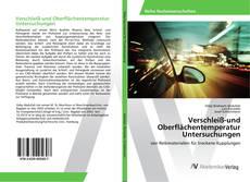 Обложка Verschleiß-und Oberflächentemperatur Untersuchungen