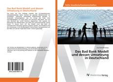 Borítókép a  Das Bad Bank Modell und dessen Umsetzung in Deutschland - hoz