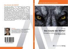 Borítókép a  Das Gesetz der Wölfe? - hoz