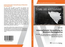 Internationale Verwaltung in Bosnien-Herzegowina kitap kapağı