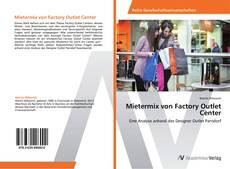 Capa do livro de Mietermix von Factory Outlet Center