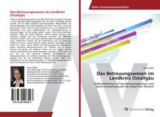 Capa do livro de Das Betreuungswesen im Landkreis Ostallgäu
