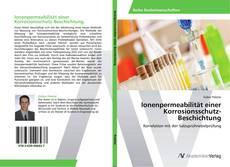 Bookcover of Ionenpermeabilität einer Korrosionsschutz-Beschichtung