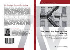 Bookcover of Die Angst vor dem sozialen Abstieg
