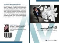 "Portada del libro de Berufsbild  ""Konzeptioner Text"""