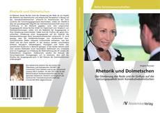 Portada del libro de Rhetorik und Dolmetschen