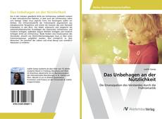 Buchcover von Das Unbehagen an der Nützlichkeit