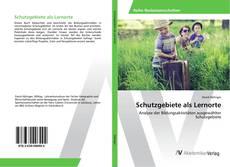 Bookcover of Schutzgebiete als Lernorte