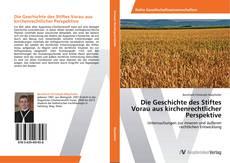 Portada del libro de Die Geschichte des Stiftes Vorau aus kirchenrechtlicher Perspektive