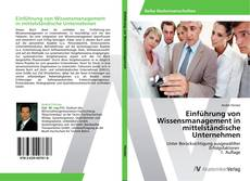 Обложка Einführung von Wissensmanagement in mittelständische Unternehmen