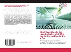 Обложка Modificación de las propiedades del SBN por la inclusión de Fe y Co