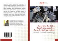Bookcover of Inventaire des D3E à Douala et proposition d'une stratégie de gestion