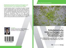 Paläobotanische Untersuchungen am Mammuttorf von Niederweningen的封面
