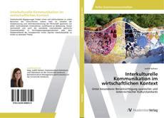 Capa do livro de Interkulturelle Kommunikation im wirtschaftlichen Kontext