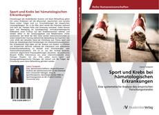 Bookcover of Sport und Krebs bei hämatologischen Erkrankungen