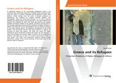 Bookcover of Greece and its Refugees