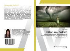 Buchcover von Fiktion oder Realität?