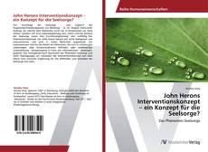 Buchcover von John Herons Interventionskonzept  – ein Konzept für die Seelsorge?