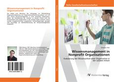 Buchcover von Wissensmanagement in Nonprofit Organisationen