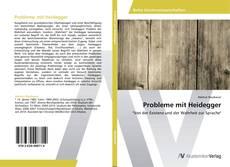 Bookcover of Probleme mit Heidegger