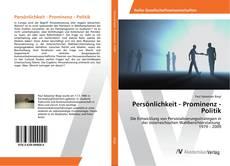Bookcover of Persönlichkeit - Prominenz - Politik
