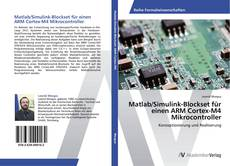 Bookcover of Matlab/Simulink-Blockset für einen ARM Cortex-M4 Mikrocontroller
