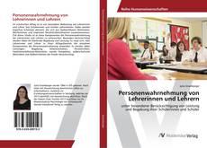 Обложка Personenwahrnehmung von Lehrerinnen und Lehrern