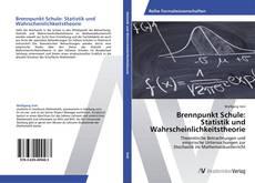Обложка Brennpunkt Schule:  Statistik und Wahrscheinlichkeitstheorie