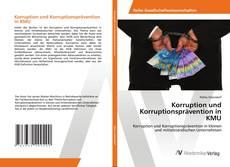 Portada del libro de Korruption und Korruptionsprävention in KMU