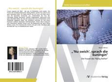 """Buchcover von """"'Nu swich', sprach die kuningin"""""""