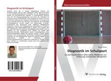 Capa do livro de Diagnostik im Schulsport
