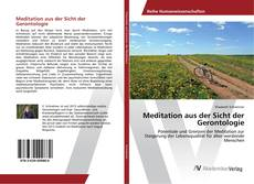 Capa do livro de Meditation aus der Sicht der Gerontologie