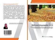 Capa do livro de Mehrwertsteuerpaket 2010