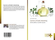 Buchcover von Carriers of God's Anointing