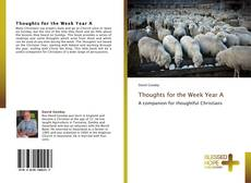 Portada del libro de Thoughts for the Week Year A