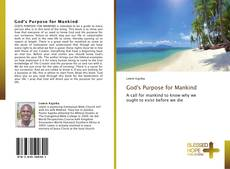 Portada del libro de God's Purpose for Mankind