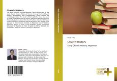 Bookcover of Church History