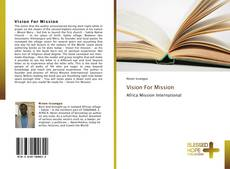 Buchcover von Vision For Mission